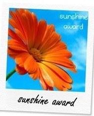 sunshine award for senitea