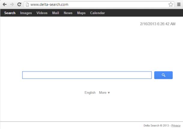 Menghilangkan Delta-Search Dari Chrome