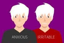 anxious-irritable