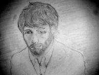 """Rob"" - I tried to draw Ben Affleck from ""Argo"" but kinda failed."