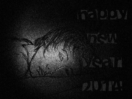 happy new year 2014 dark 3